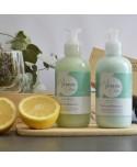 Duo gel douche et lait corps artisanal Verveine Citron - 200 ml