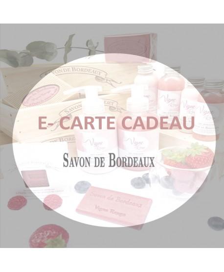 E-CARTE CADEAU * 20 €